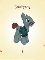 Henchpony MLP Gameloft