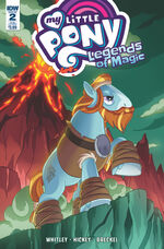 Legends of Magic issue 2 sub cover