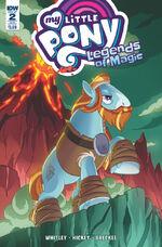 Legends of Magic issue 2 sub cover