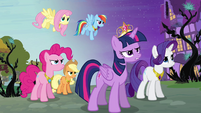 Main six with the Elements of Harmony S4E01