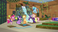 Mane Six continue the escape room S7E2