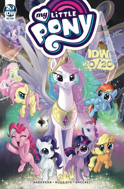 My Little Pony IDW 20-20 cover A