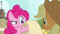 """Pinkie Pie """"a little smudged"""" S4E09"""