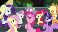 Pinkie Pie --I hope there's cotton candy!-- S6E7