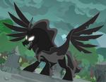 Pony der Schatten