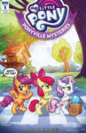 Ponyville Mysteries issue 1 Tidewater Comicon cover RE