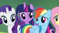 "Rainbow ""it's where my friends are"" S4E10"