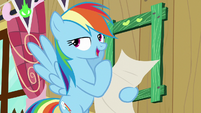 "Rainbow Dash ""a picture of yours truly"" S8E20"