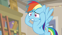 "Rainbow Dash ""into joining his gang!"" S9E21"