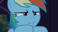 Rainbow Dash --work extra hard to top it-- S6E15