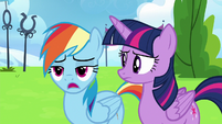 Rainbow Dash --yeah, they're still mad-- S6E24
