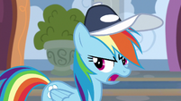 Rainbow Dash -I watched them cheer stuff- S9E15