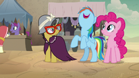 Rainbow Dash getting super-excited S7E18