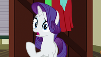 "Rarity ""I understand why you didn't come"" S9E19"