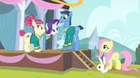 Rarity 'we're the Ponytones minus one tone' S4E14
