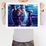 Shadows art print WeLoveFine