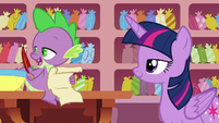 """Spike """"that's a relief"""" S6E22"""