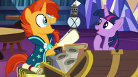 Sunburst takes out an antique lantern S7E24