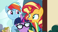"Sunset Shimmer ""keep a low profile"" EGSB"