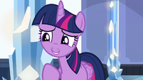 Twilight Sparkle --why didn't you tell me--- S6E16