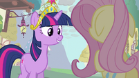 Twilight about Rainbow Dash S3E13