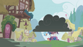 Apple Bloom moping under a dark cloud S1E12.png