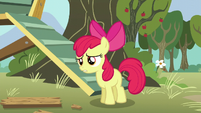 Apple Bloom panicked -you did-- S5E4