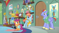 Bow and Windy enter the room after Scootaloo S7E7.png
