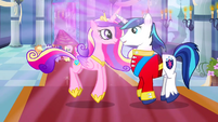 Cadance and Shining Armor S02E26