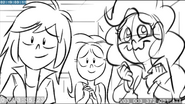 EG3 animatic - Rainbow, Fluttershy, and Pinkie supporting Sunset