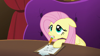 Fluttershy taking friendship notes S6E20