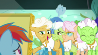 Goldie -why didn't you say so sooner-- S8E5