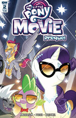 MLP The Movie Prequel issue 2 sub cover