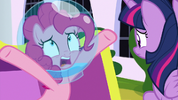 "Pinkie Pie ""without being in space"" S9E4"