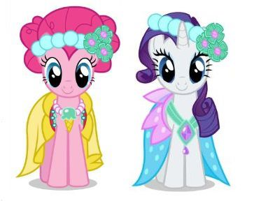 File:Pinkie Pie and Rarity as bridlemaids.jpg