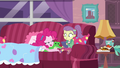 Pinkie Pie being babysat by Lily Pad EGDS3.png