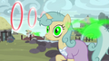Ponies falling under the Sirens' spell S7E26.png