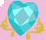Princess Cadance cutie mark crop EG