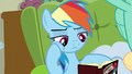 Rainbow reading a Daring Do book S6E11.png