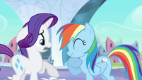 Rarity & Rainbow Dash emotion mix S3E1