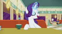 Rarity --He's a very pleasant landlord-- S6E9