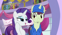 Rarity -I would be eternally grateful- S5E15