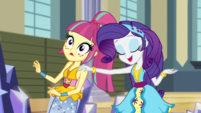 "Rarity insisting ""music first"" EGS1"