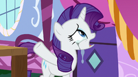 Rarity tearfully -there is no show!- S7E9
