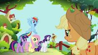 S01E10 Applejack pomoże zapanować nad rojem