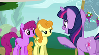 S01E10 Twilight mówi do Berry Puch i Golden Harvest