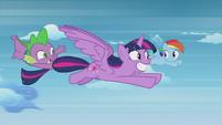 S05E25 Rainbow Dash rezygnuje z wyścigu