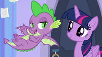 "Spike ""that part is pretty cool"" S9E25"