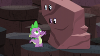 Spike --so let's sneak out of here!-- S6E5