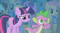 Spike -you show her, AJ!- S1E06
